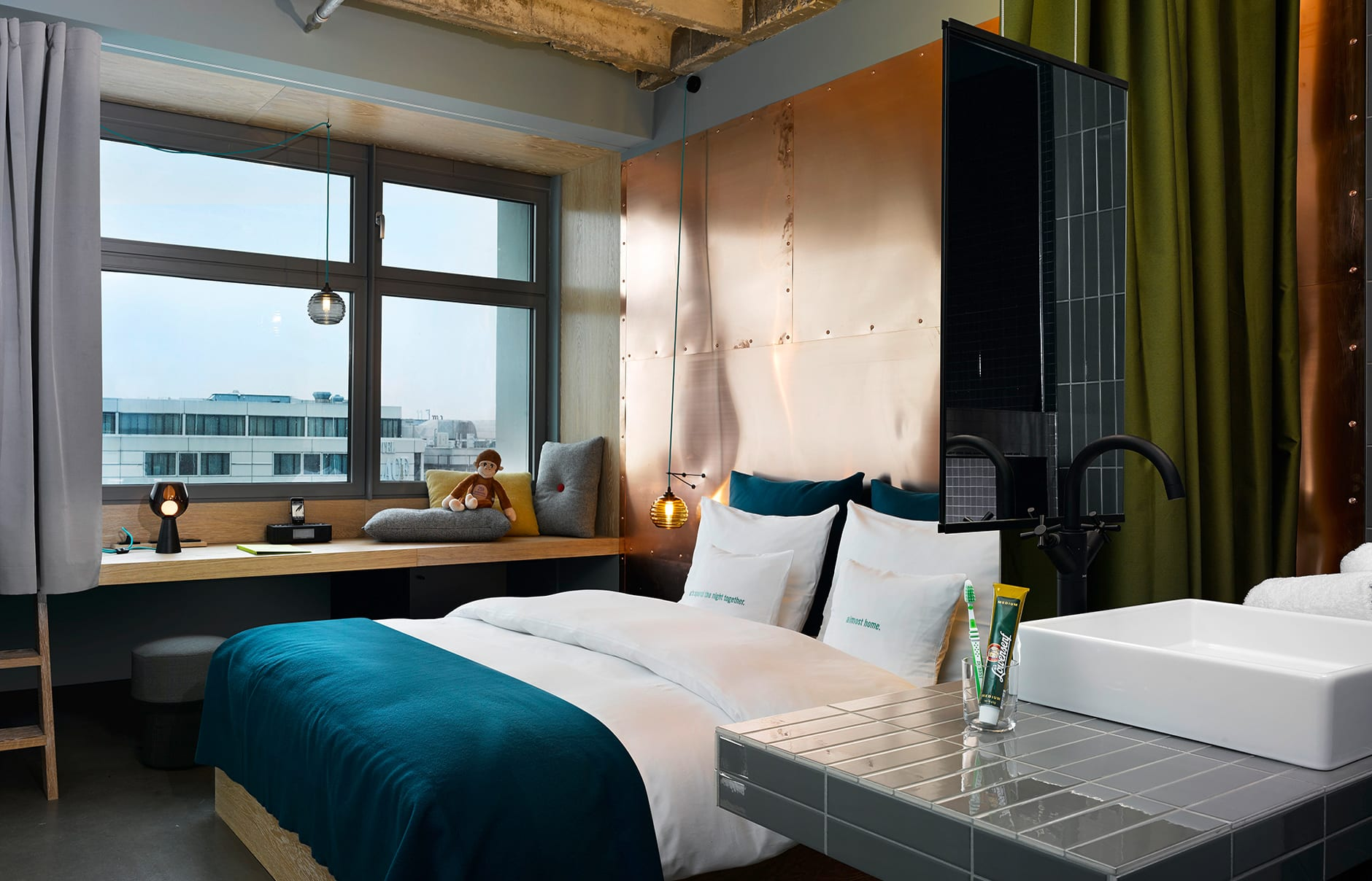 25hours Hotel Bikini Berlin, Germany. © 25hours Hotels / Stephan Lemke