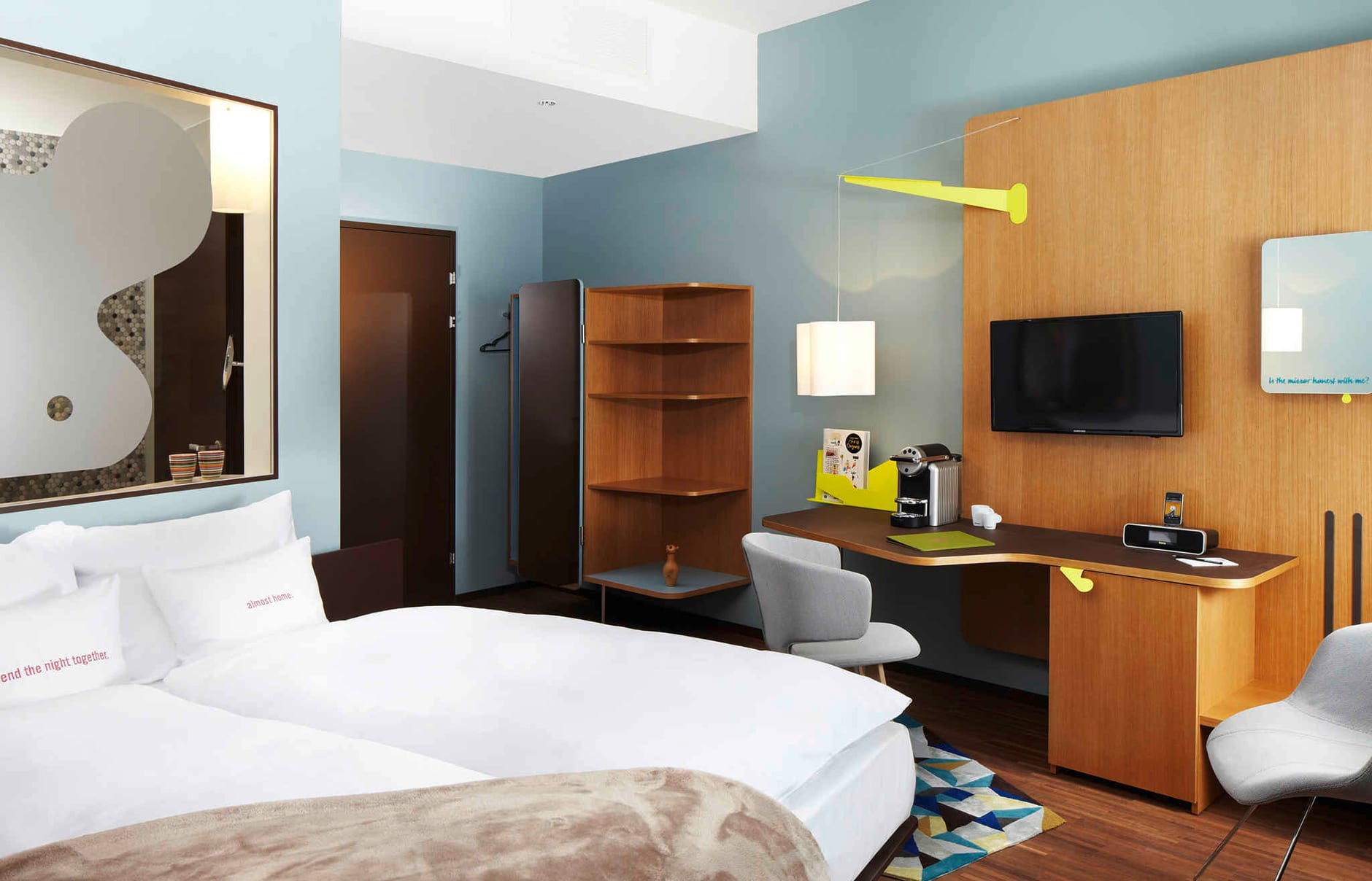 25hours Hotel Zurich West, Switzerland. Hotel Review. Photo © 25hours Hotels