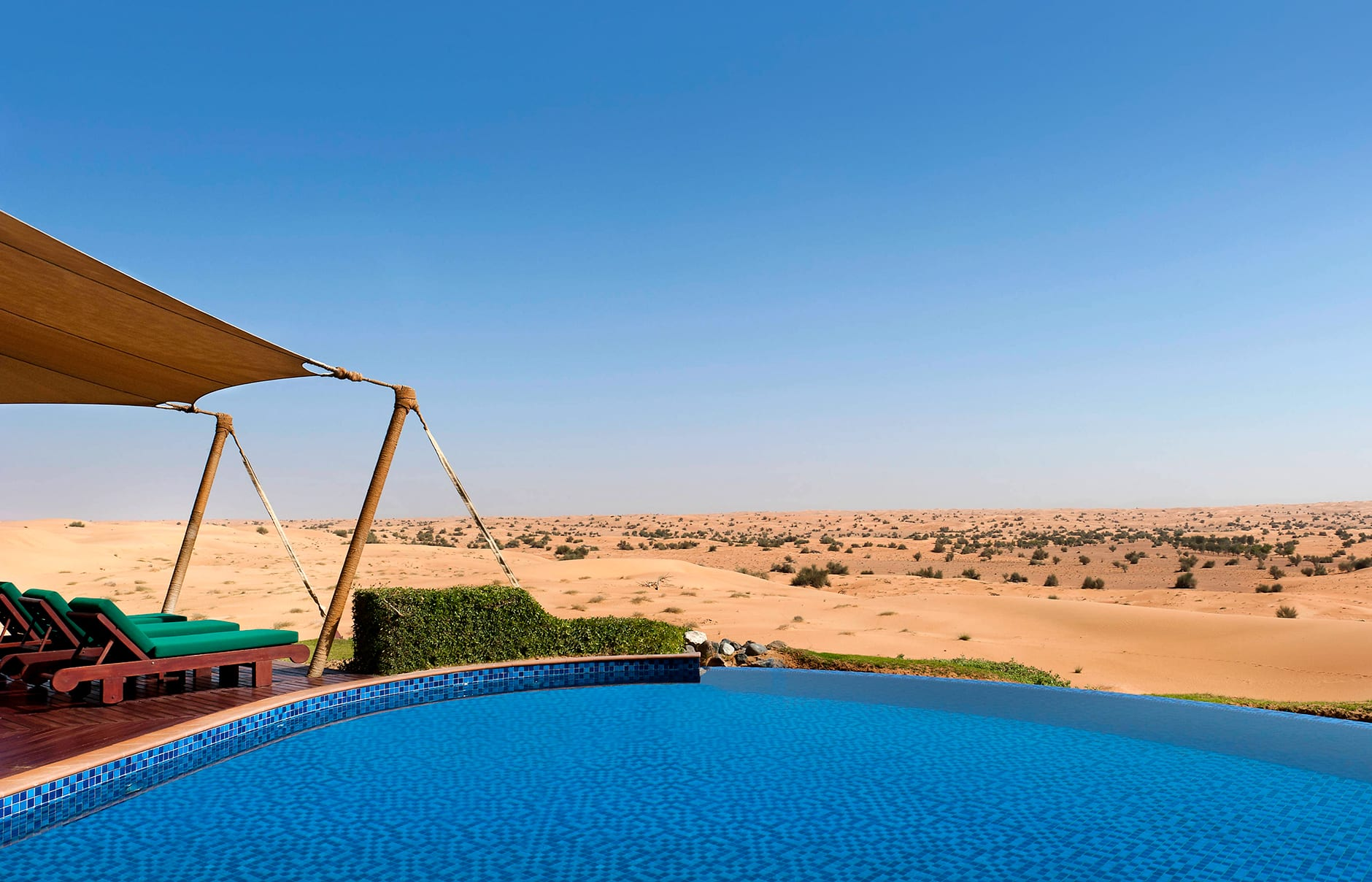 Al Maha, a Luxury Collection Desert Resort & Spa, Dubai, UAE. Review by TravelPlusStyle. Photo © Marriott International