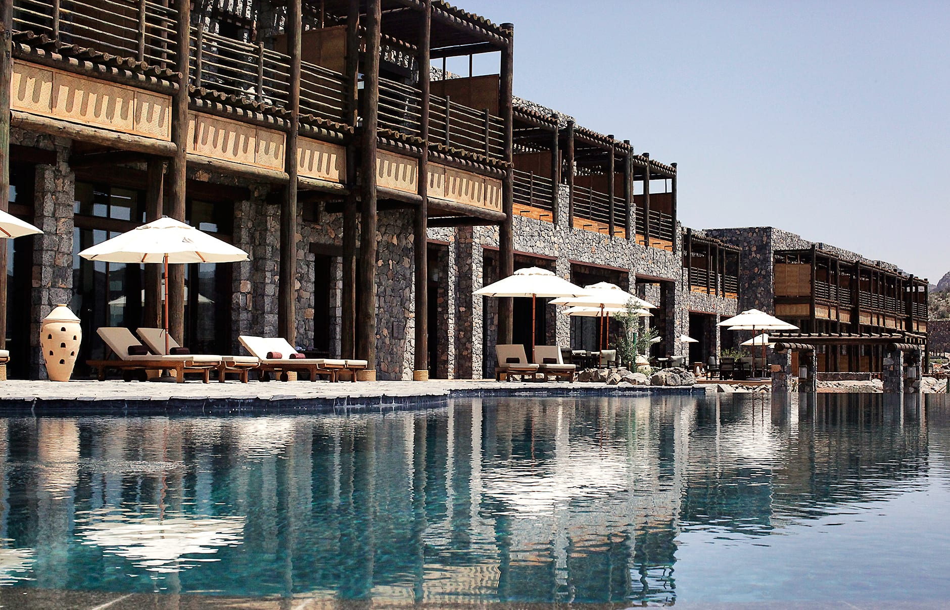 Alila Jabal Akhdar, Nizwa, Oman. © Alila Hotels and Resorts
