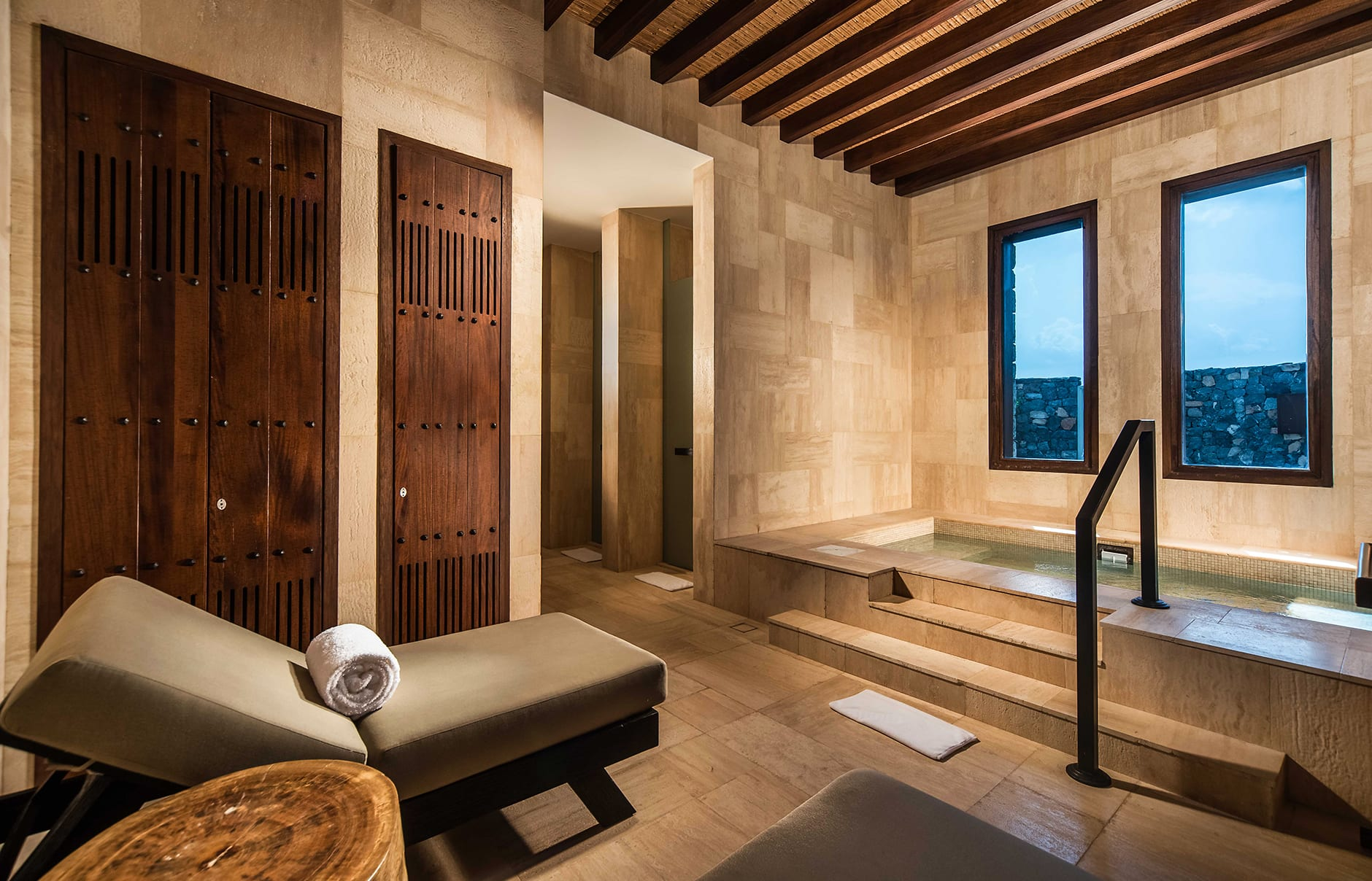 Spa. Alila Jabal Akhdar, Nizwa, Oman. © Alila Hotels and Resorts