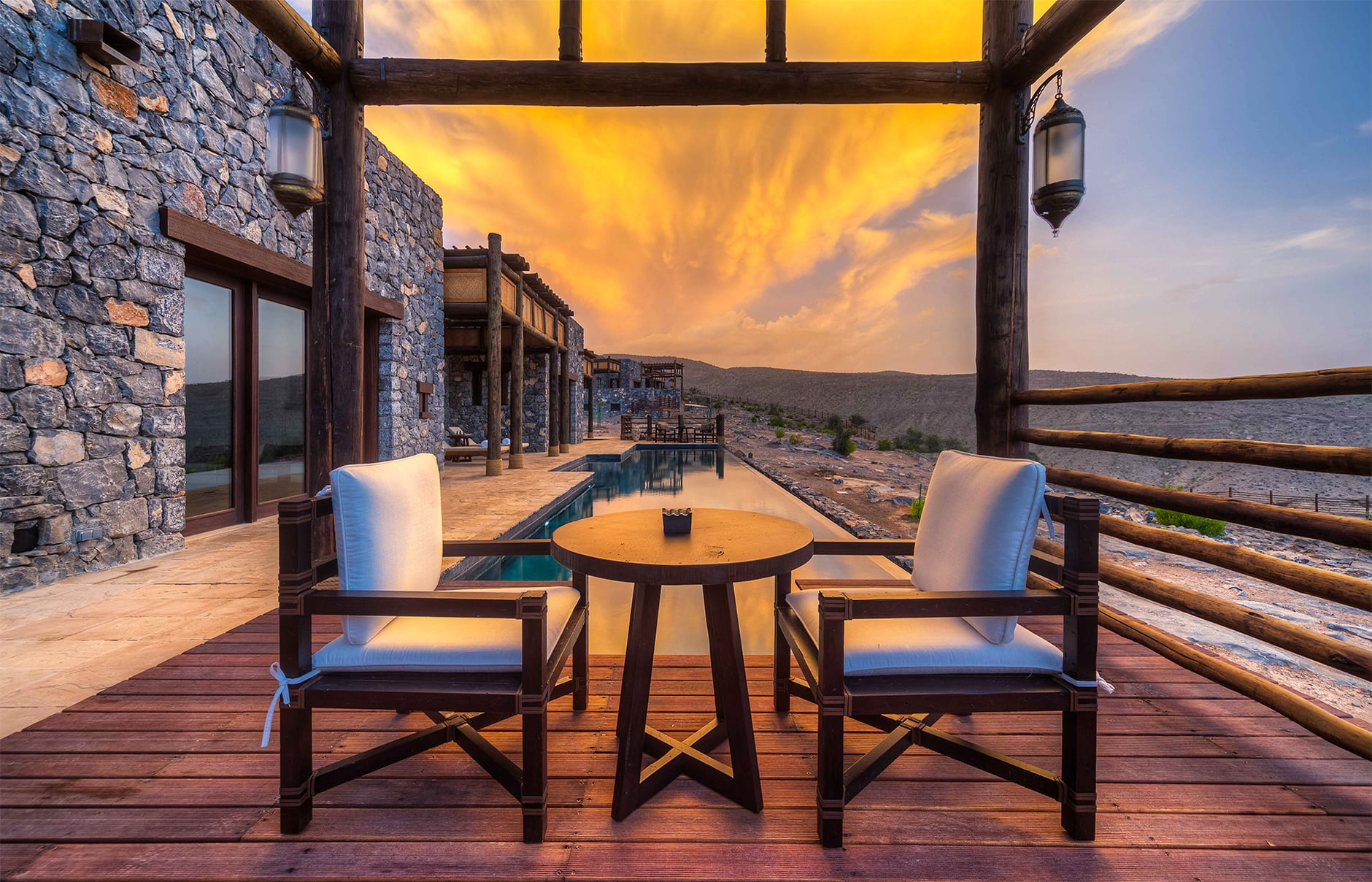 Jabal Villa. Alila Jabal Akhdar, Nizwa, Oman. © Alila Hotels and Resorts