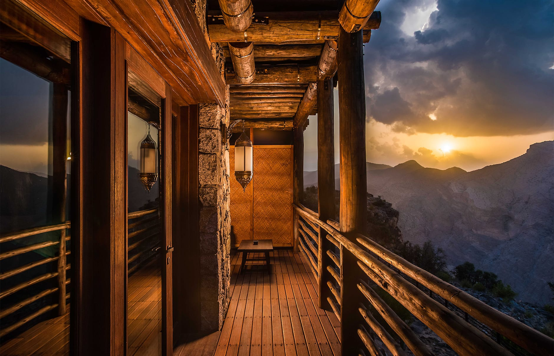 Ridge View Suite. Alila Jabal Akhdar, Nizwa, Oman. © Alila Hotels and Resorts