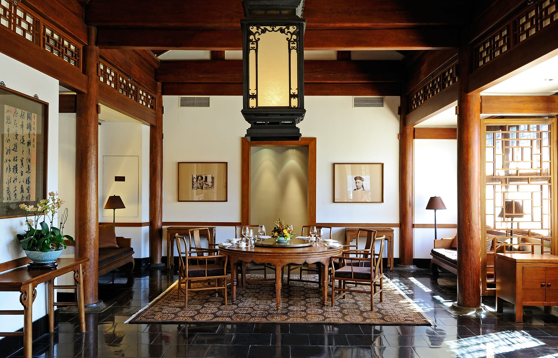Chinese Restaurant. Aman at Summer Palace, Beijing, China. © Amanresorts