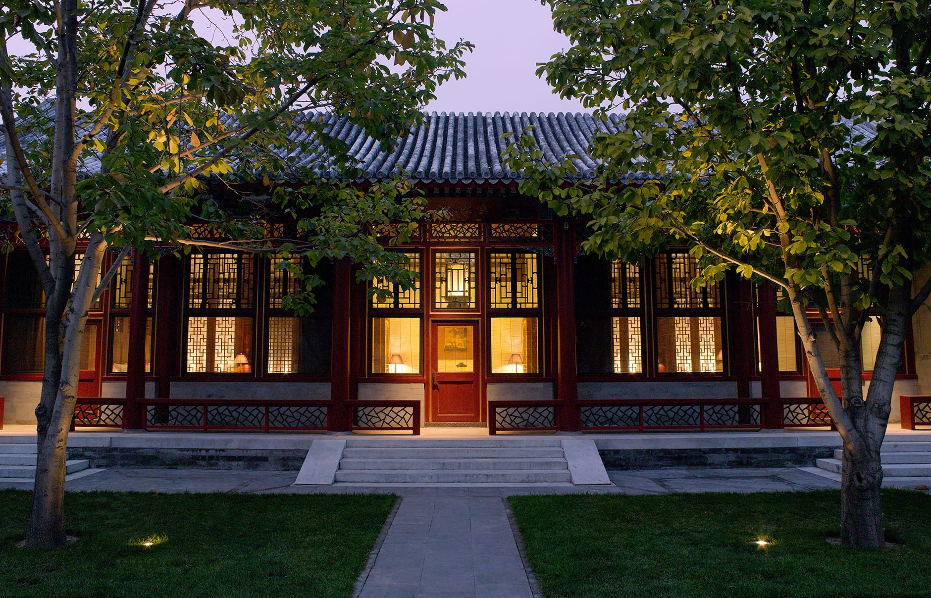Imperial Suite Exterior. Aman at Summer Palace, Beijing, China. © Amanresorts