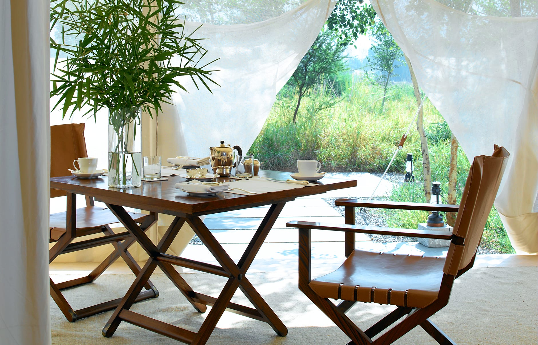 Private dining. Aman-i-Khas, Ranthambhore, India. © Amanresorts