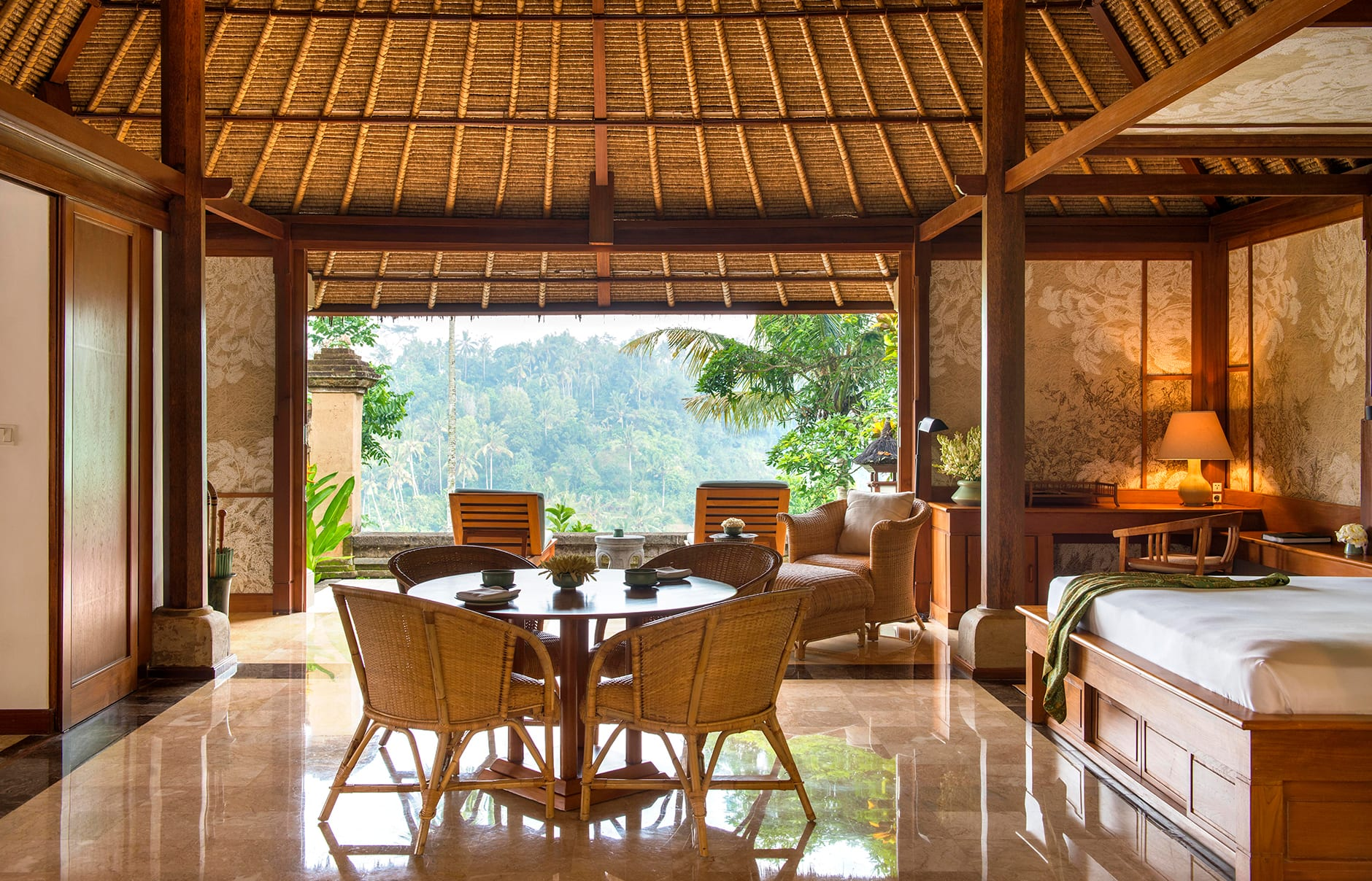 Amandari Ubud, Bali, Indonesia. Luxury Hotel Review by TravelPlusStyle. Photo © Aman Resorts