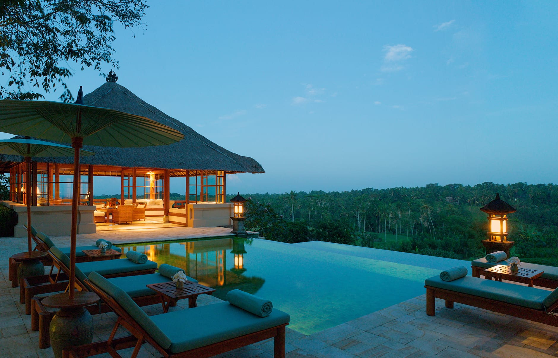Villa. Amandari, Bali, Indonesia. © Amanresorts