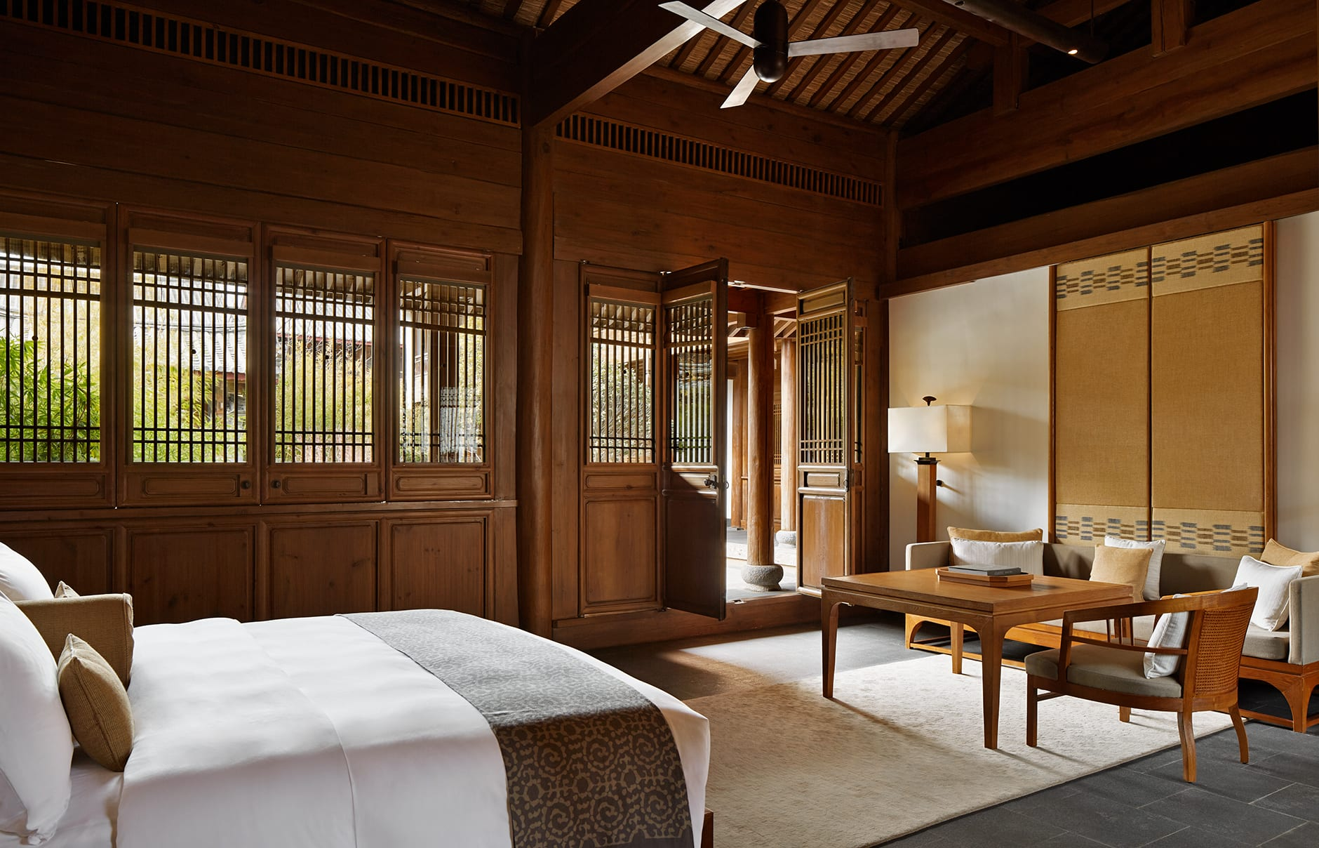 Amandayan, Lijiang, China. Luxury Hotel Review by TravelPlusStyle. Photo © Aman Resorts