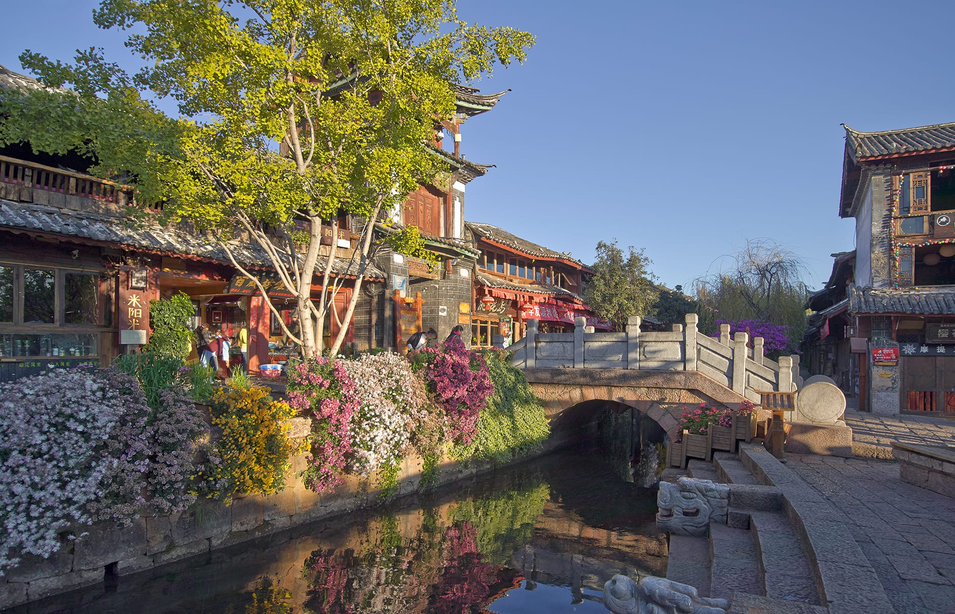 Lijiang Old Town. Amandayan, Lijiang, China. Luxury Hotel Review by TravelPlusStyle. Photo © Aman Resorts