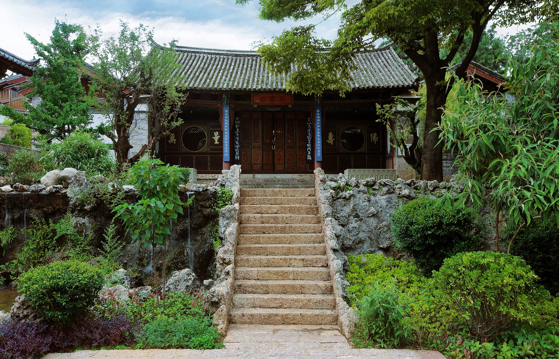 Amandayan - Wenchang Palace. Amandayan, Lijiang, China. Luxury Hotel Review by TravelPlusStyle. Photo © Aman Resorts
