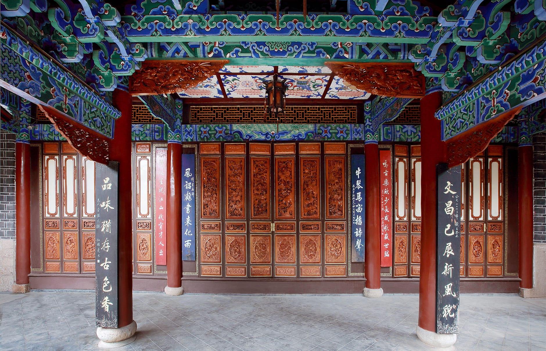 Amandayan - Wenchang Palace. Amandayan, Lijiang, China. © Amanresorts