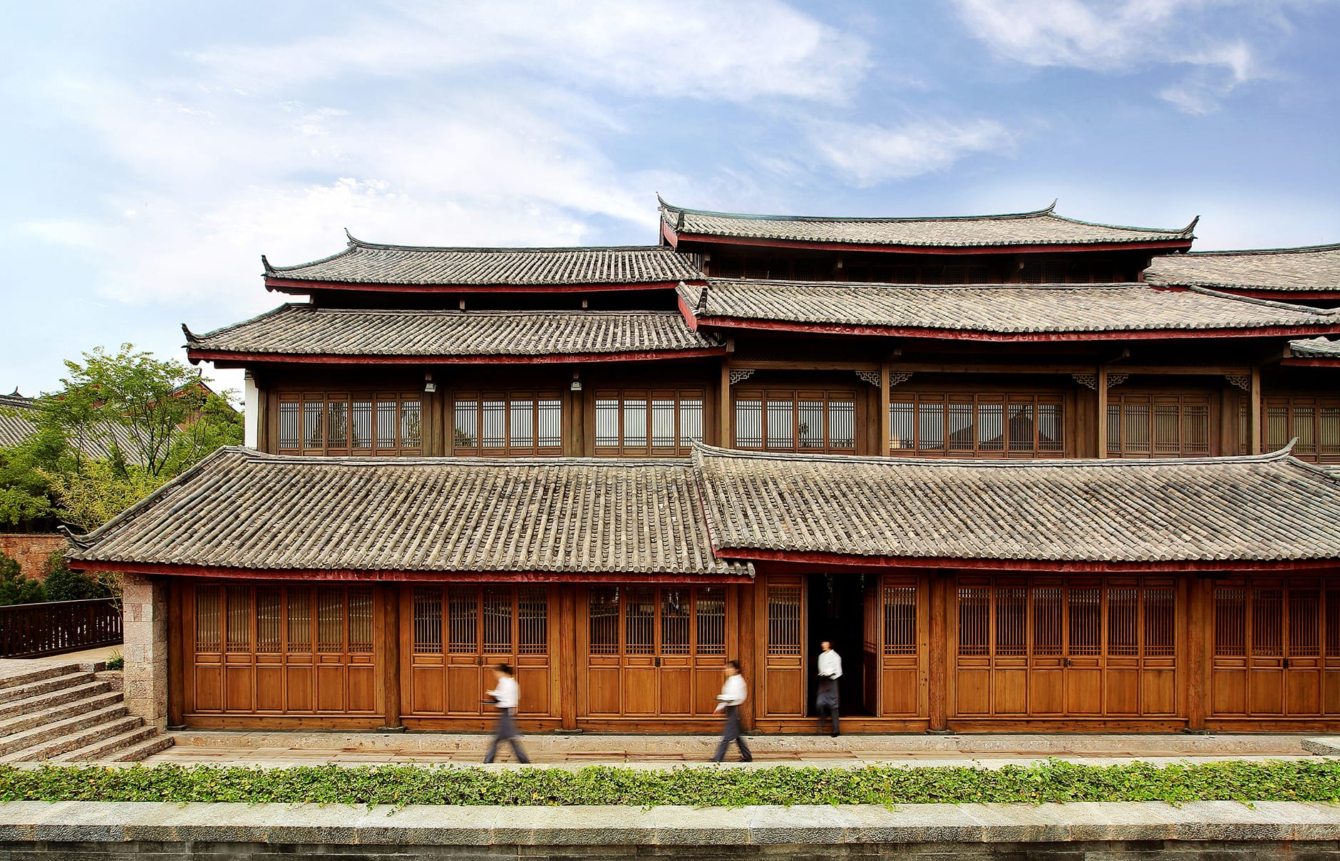 Amandayan - Main building. Amandayan, Lijiang, China. Luxury Hotel Review by TravelPlusStyle. Photo © Aman Resorts