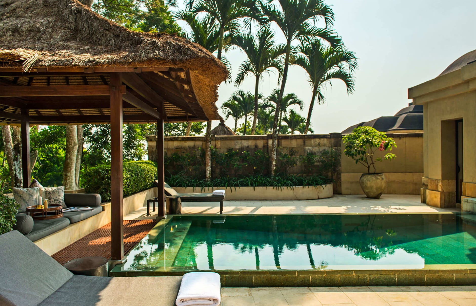 Amanjiwo, Java, Indonesia. Luxury Hotel Review by TravelPlusStyle. Photo © Aman Resorts