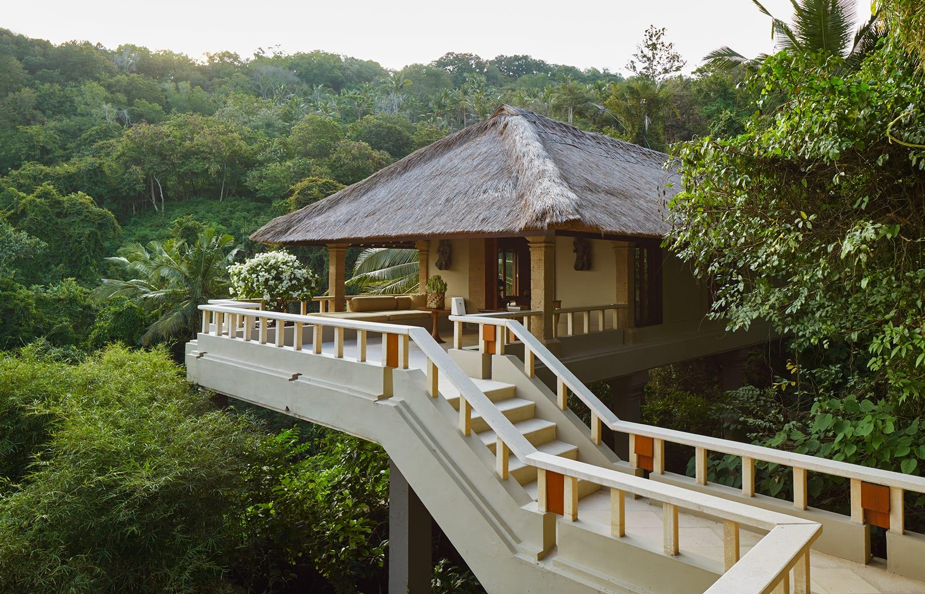 Amankila, Bali, Indonesia. Luxury Hotel Review by TravelPlusStyle. Photo © Aman Resorts