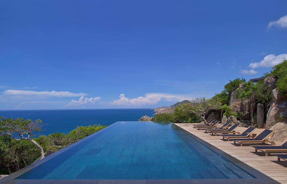 Amanoi, Vietnam - Cliff Pool. © Amanresorts