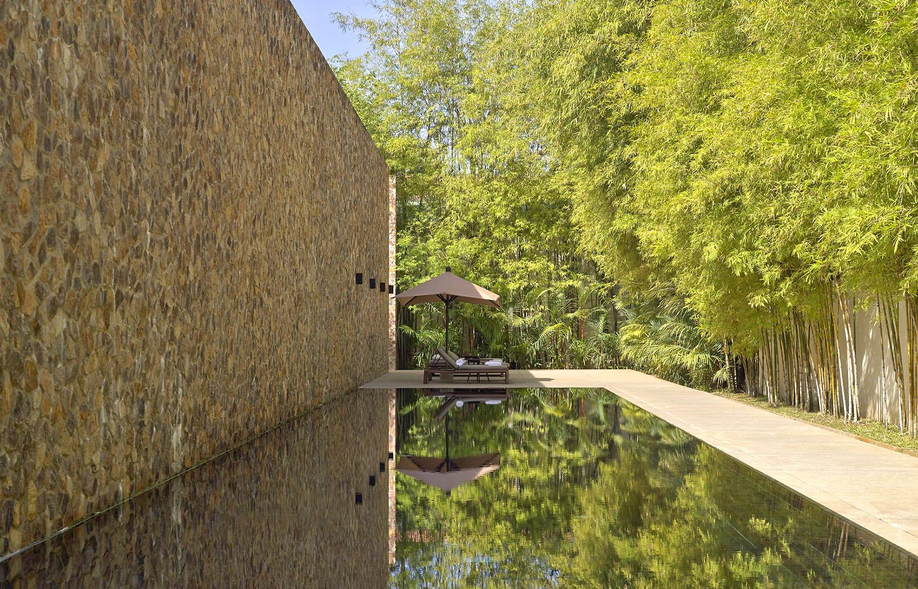 Amansara - Lap Pool. © Amanresorts
