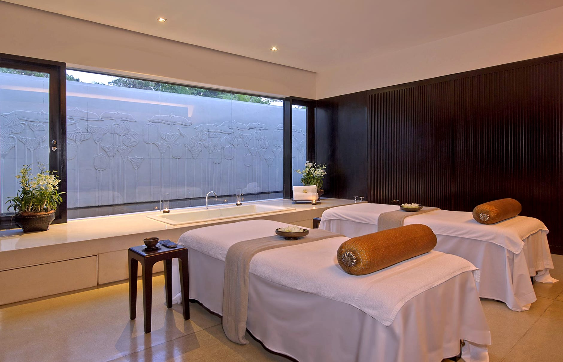 Amansara - Spa Treatment Room. © Amanresorts