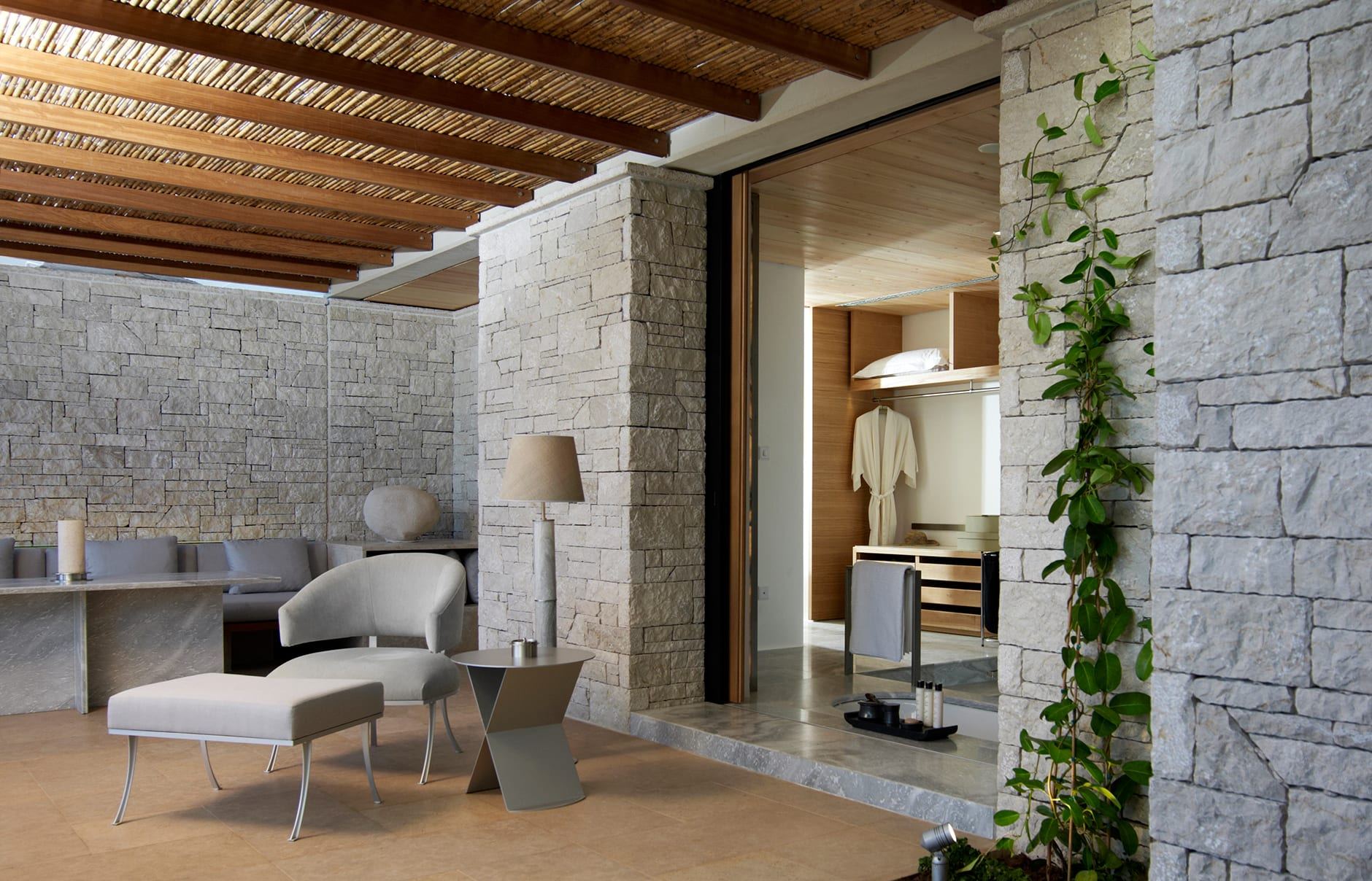 Amanzoe - Deluxe Pool Pavilion Terrace. © Amanresorts