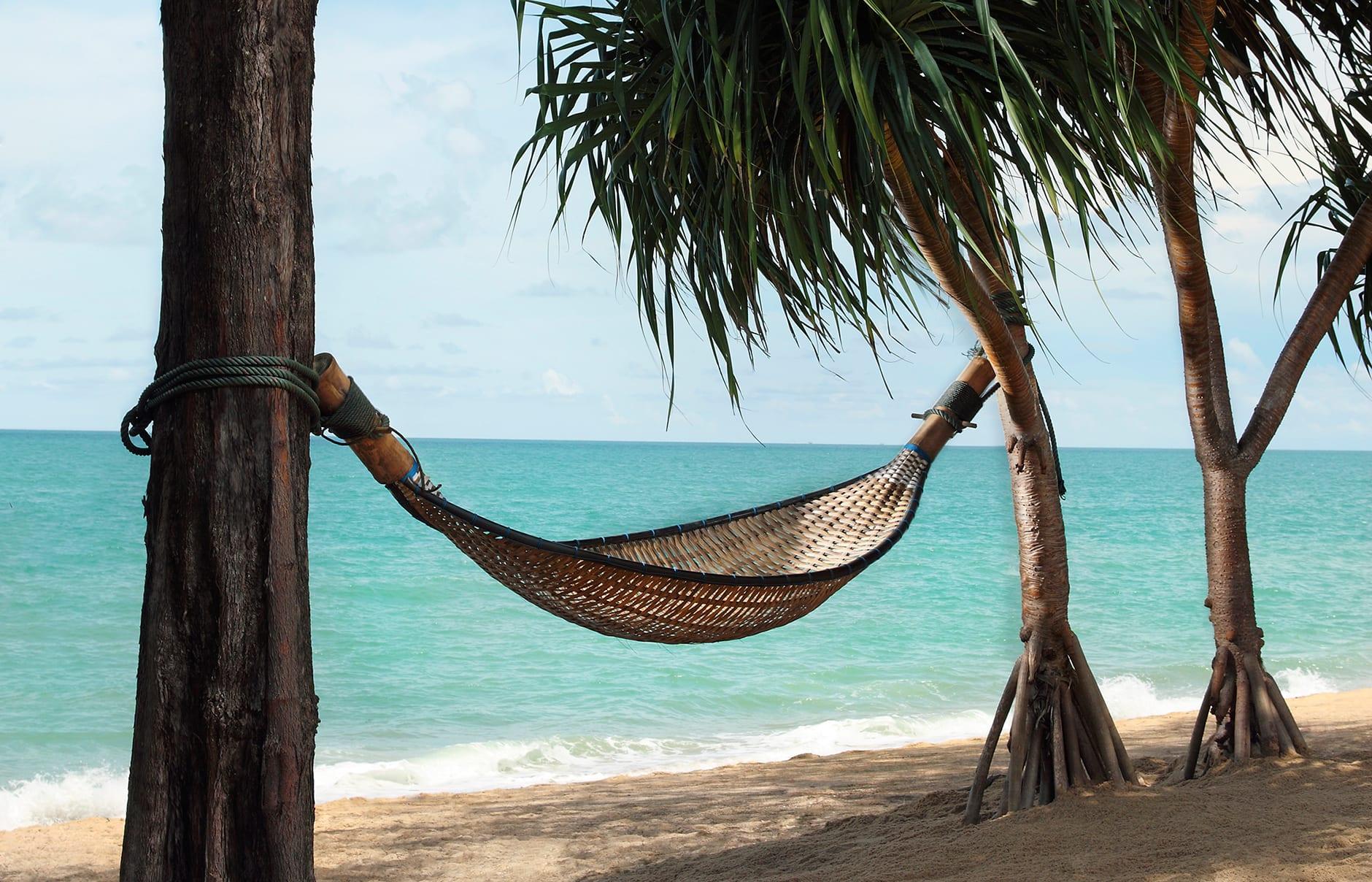 Hammock by the sea. Anantara Phuket Villas, Thailand. © Anantara Hotels, Resorts & Spa