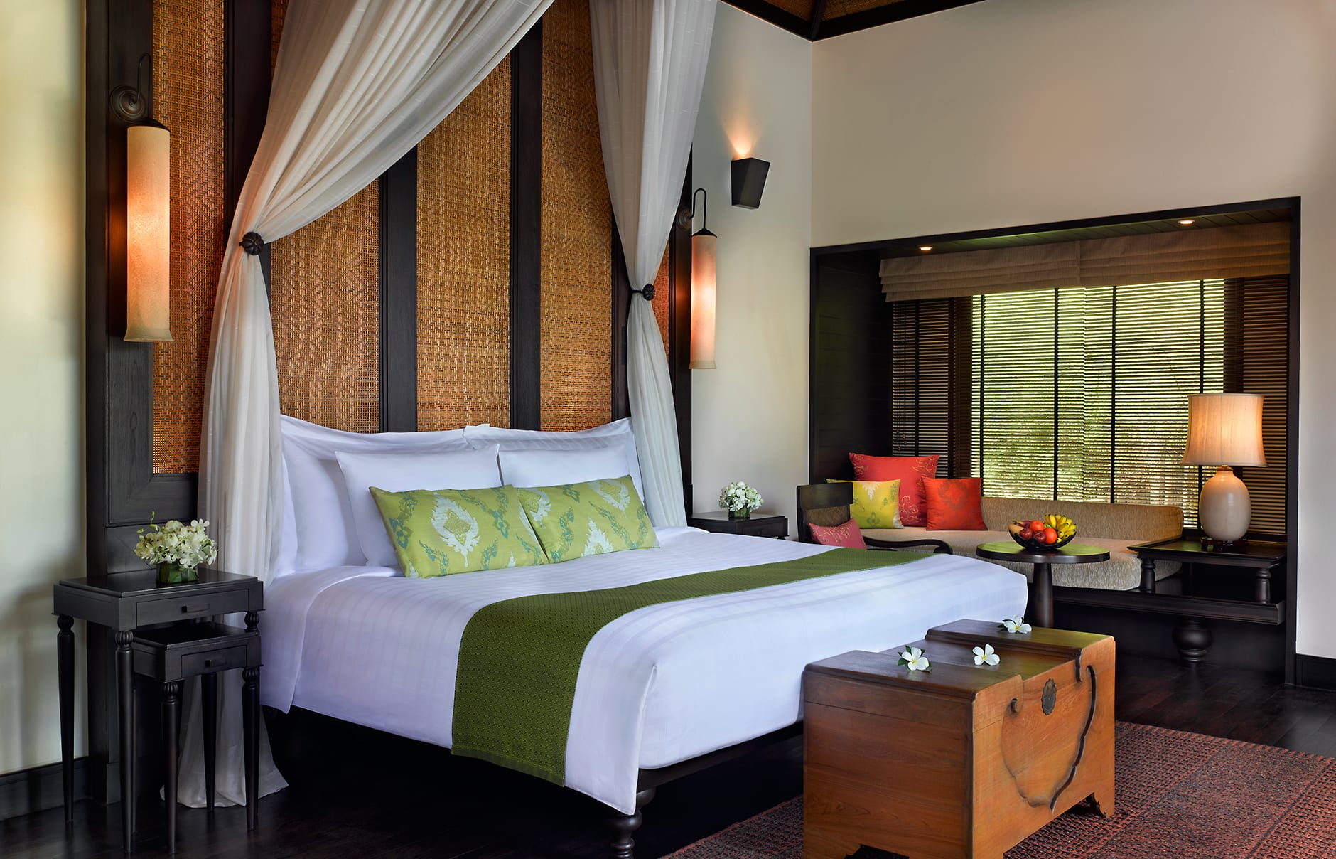 Pool Villa bedroom. Anantara Phuket Villas, Thailand. © Anantara Hotels, Resorts & Spa