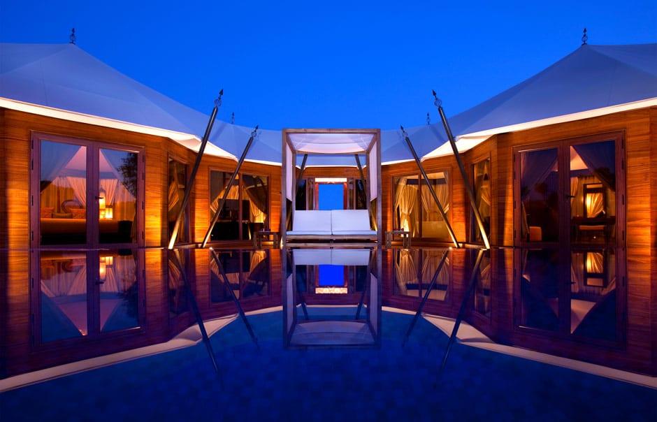 Al Sahari Tented Pool Villa © Banyan Tree Hotels & Resorts