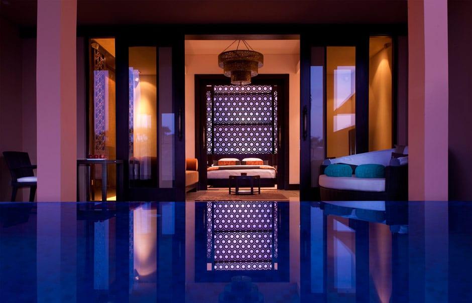 Al Rimal Deluxe Pool exterior © Banyan Tree Hotels & Resorts