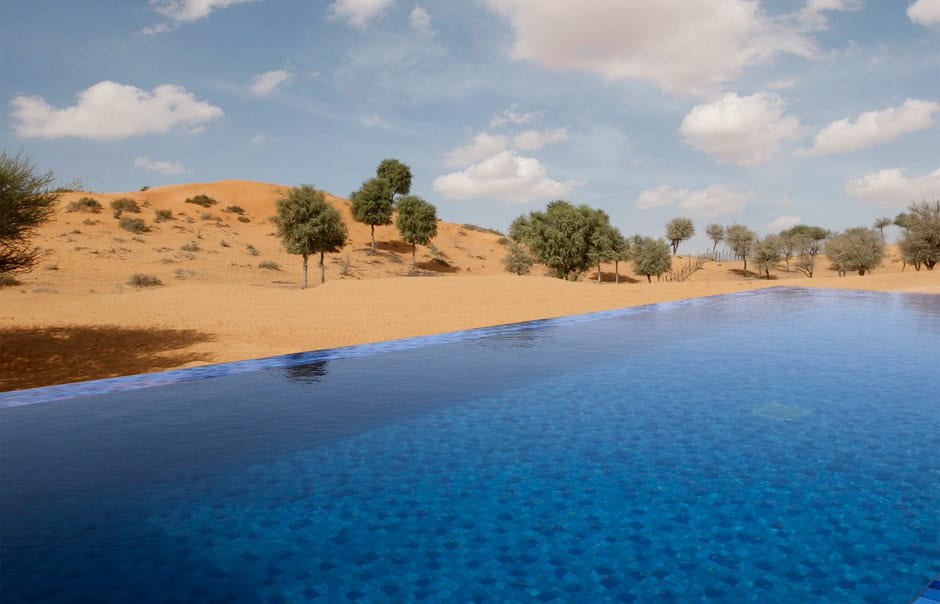 Al Khaimah Tented Pool Villa © Banyan Tree Hotels & Resorts