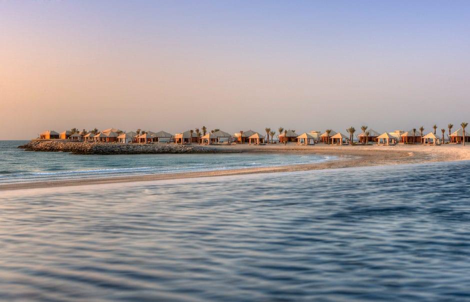 Beach Villas. Banyan Tree Ras Al Khaimah Beach. © Banyan Tree Hotels & Resorts