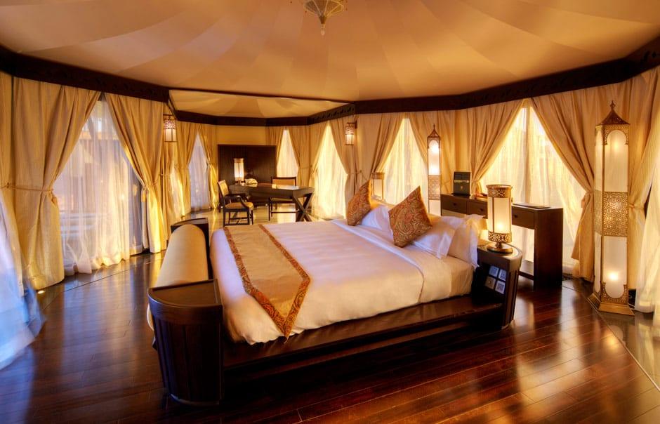 Tented Villa Bedroom © Banyan Tree Hotels & Resorts