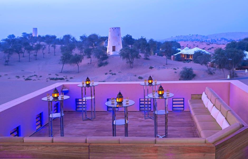 Moon Bar. Banyan Tree Al Wadi © Banyan Tree Hotels & Resorts