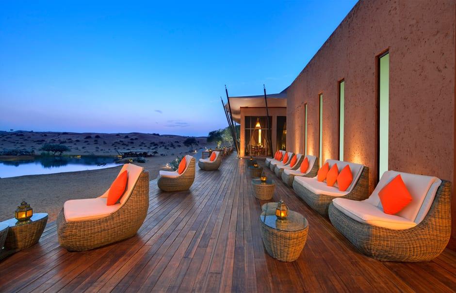 Safran Terrace Lounge. Banyan Tree Al Wadi © Banyan Tree Hotels & Resorts