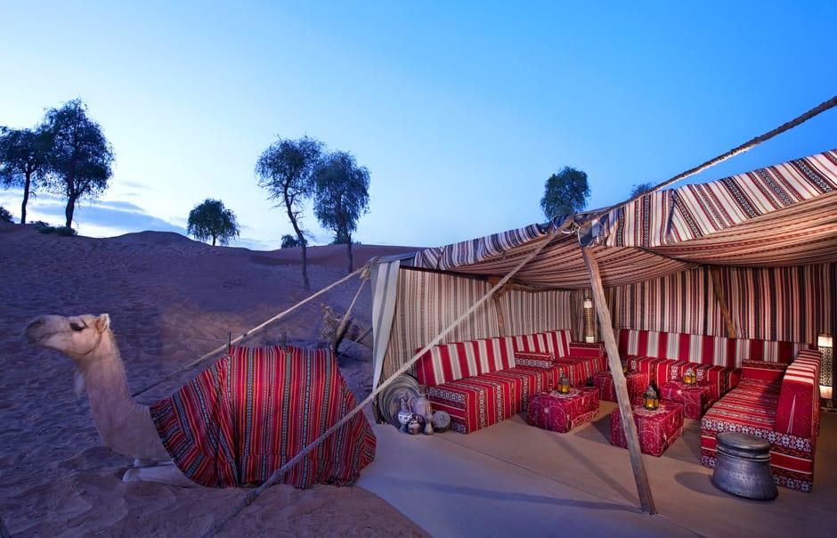 Khan Zaman Tent. Banyan Tree Al Wadi © Banyan Tree Hotels & Resorts