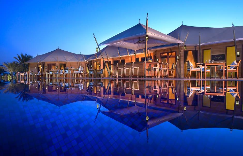 Sands Restaurant. Banyan Tree Ras Al Khaimah Beach. © Banyan Tree Hotels & Resorts