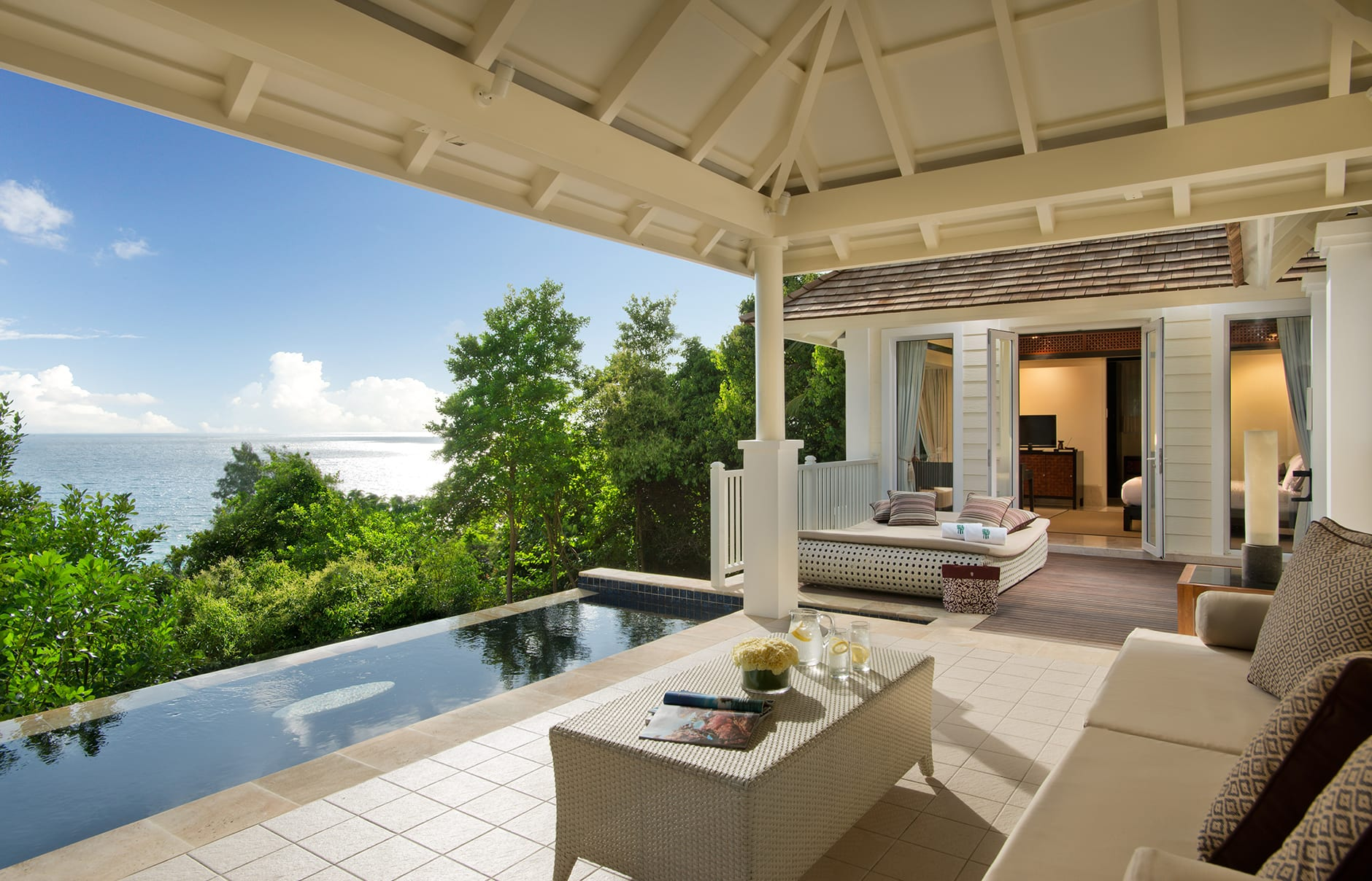 Banyan Tree Seychelles. Luxury Hotel Review by TravelPlusStyle. Photo © Banyan Tree Hotels & Resorts