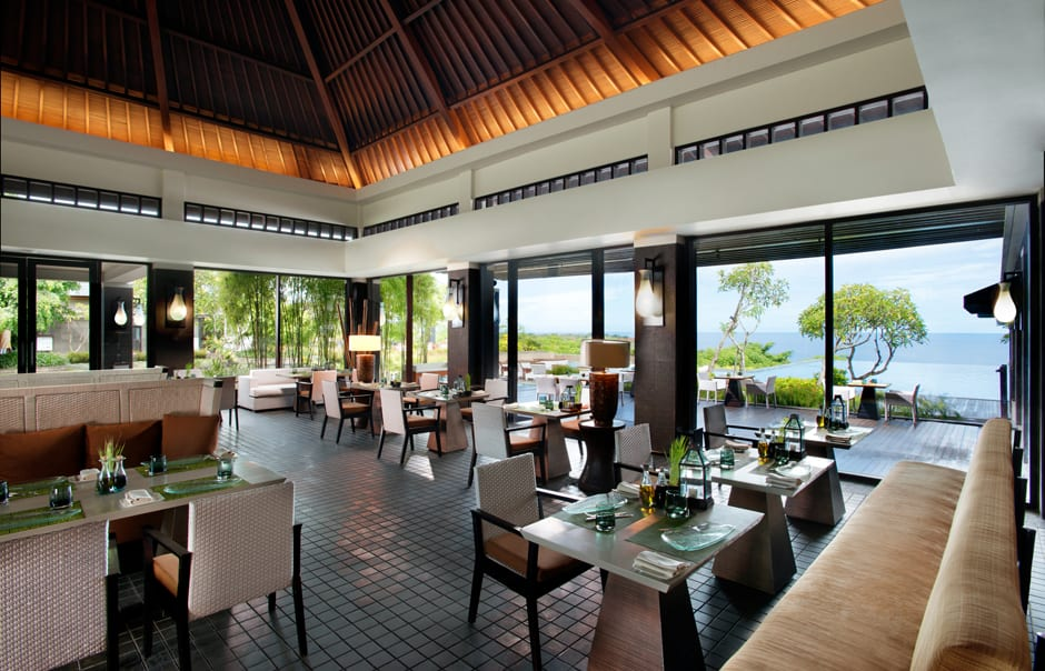 Bambu Restaurant. Banyan Tree Ungasan. © Banyan Tree Hotels & Resorts