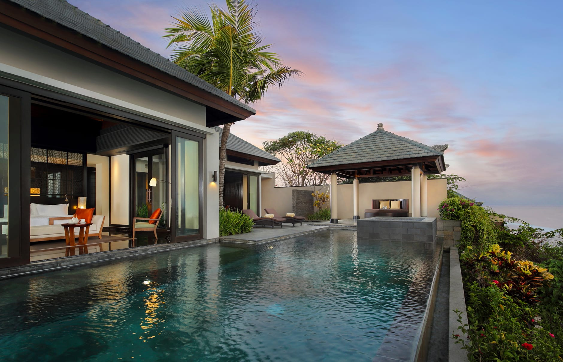 Banyan Tree Ungasan, Bali, Indonesia.  Hotel Review by TravelPlusStyle. Photo © Banyan Tree Hotels & Resorts
