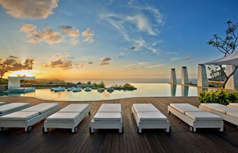 Sunset. Banyan Tree Ungasan. © Banyan Tree Hotels & Resorts