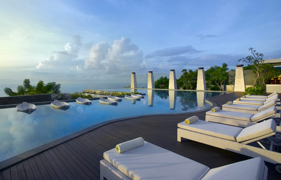 The main pool. Banyan Tree Ungasan. © Banyan Tree Hotels & Resorts