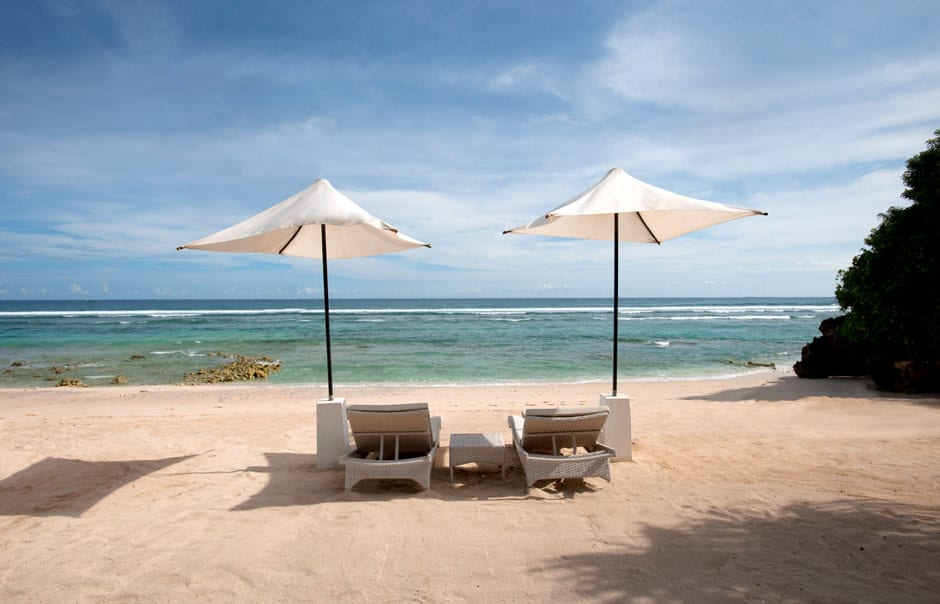 The Beach. Banyan Tree Ungasan. © Banyan Tree Hotels & Resorts