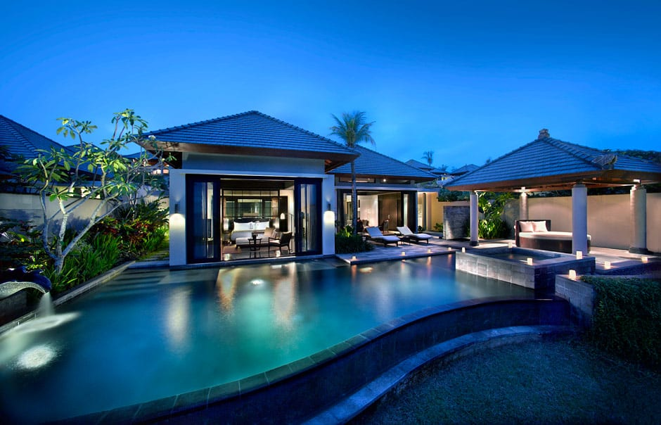 Pool Villa Exterior. Banyan Tree Ungasan. © Banyan Tree Hotels & Resorts