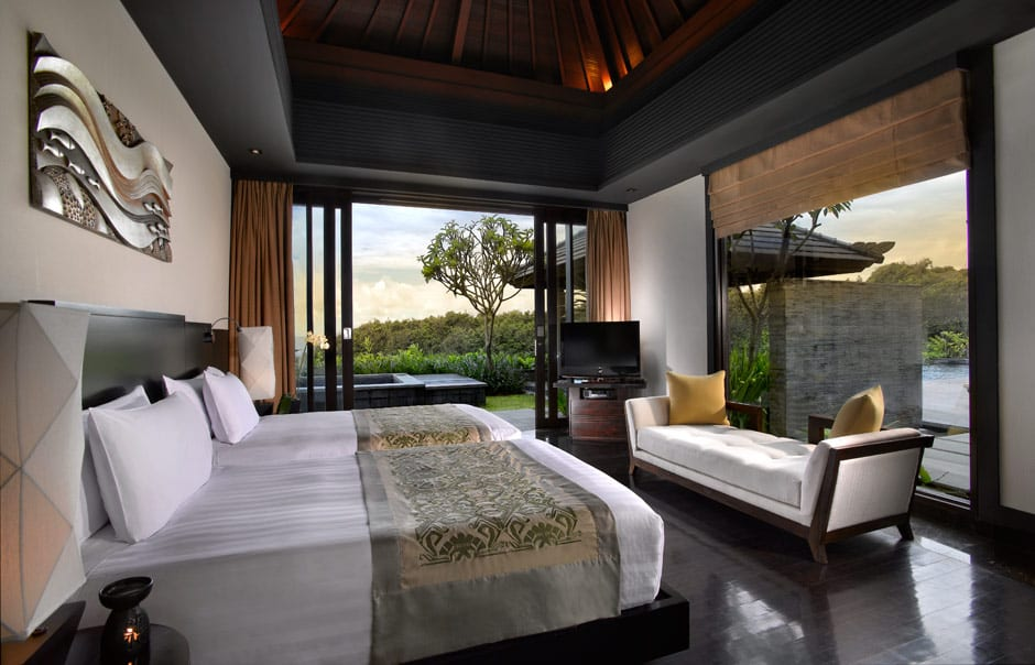 Villa Bedroom. Banyan Tree Ungasan. © Banyan Tree Hotels & Resorts