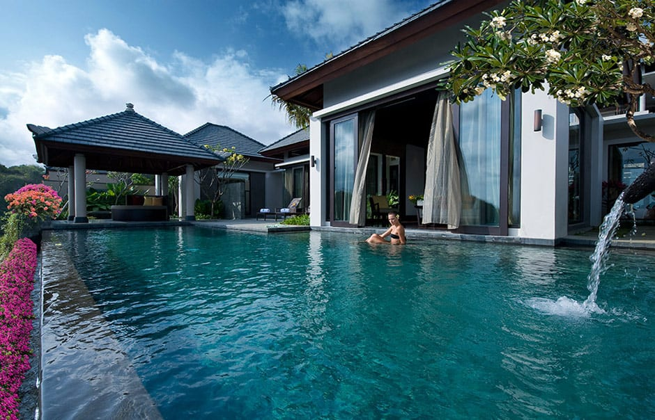 Pool Villa Exterior . Banyan Tree Ungasan. © Banyan Tree Hotels & Resorts