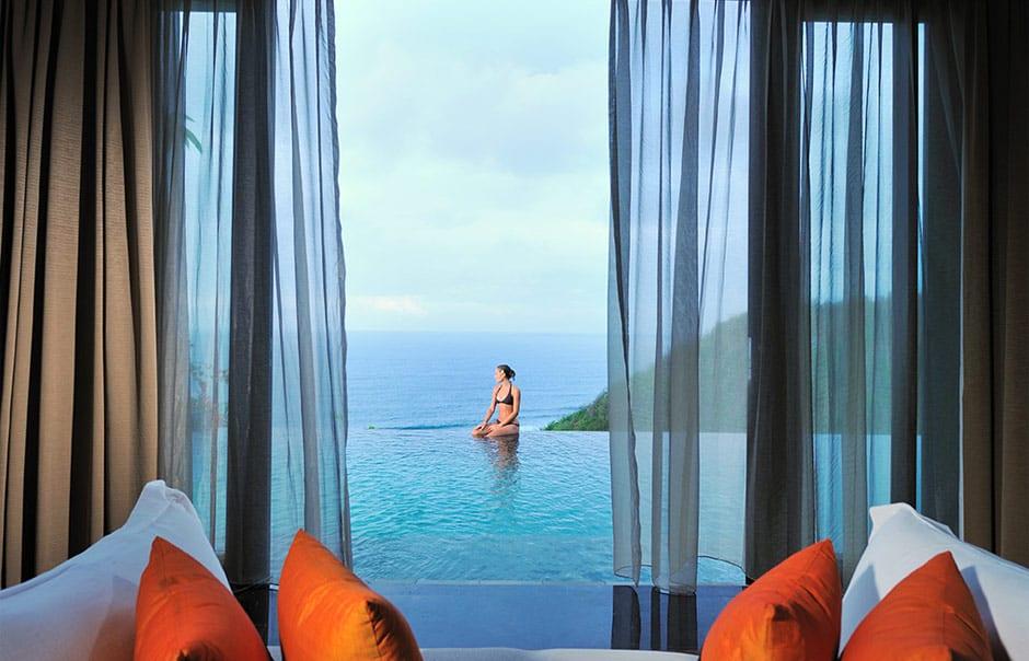 Infinity Pool. © Banyan Tree Hotels & Resorts