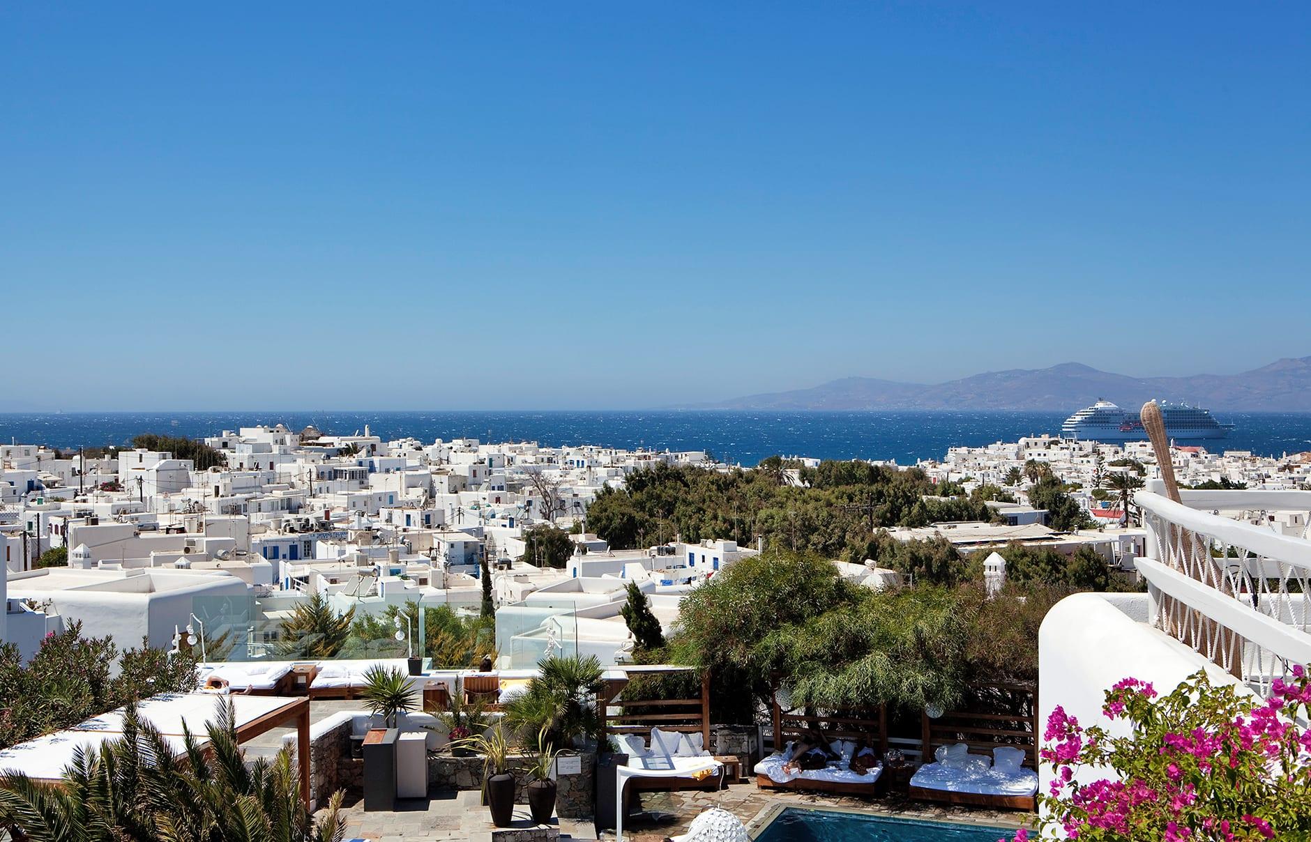 Belvedere Mykonos, Greece. © Belvedere Mykonos