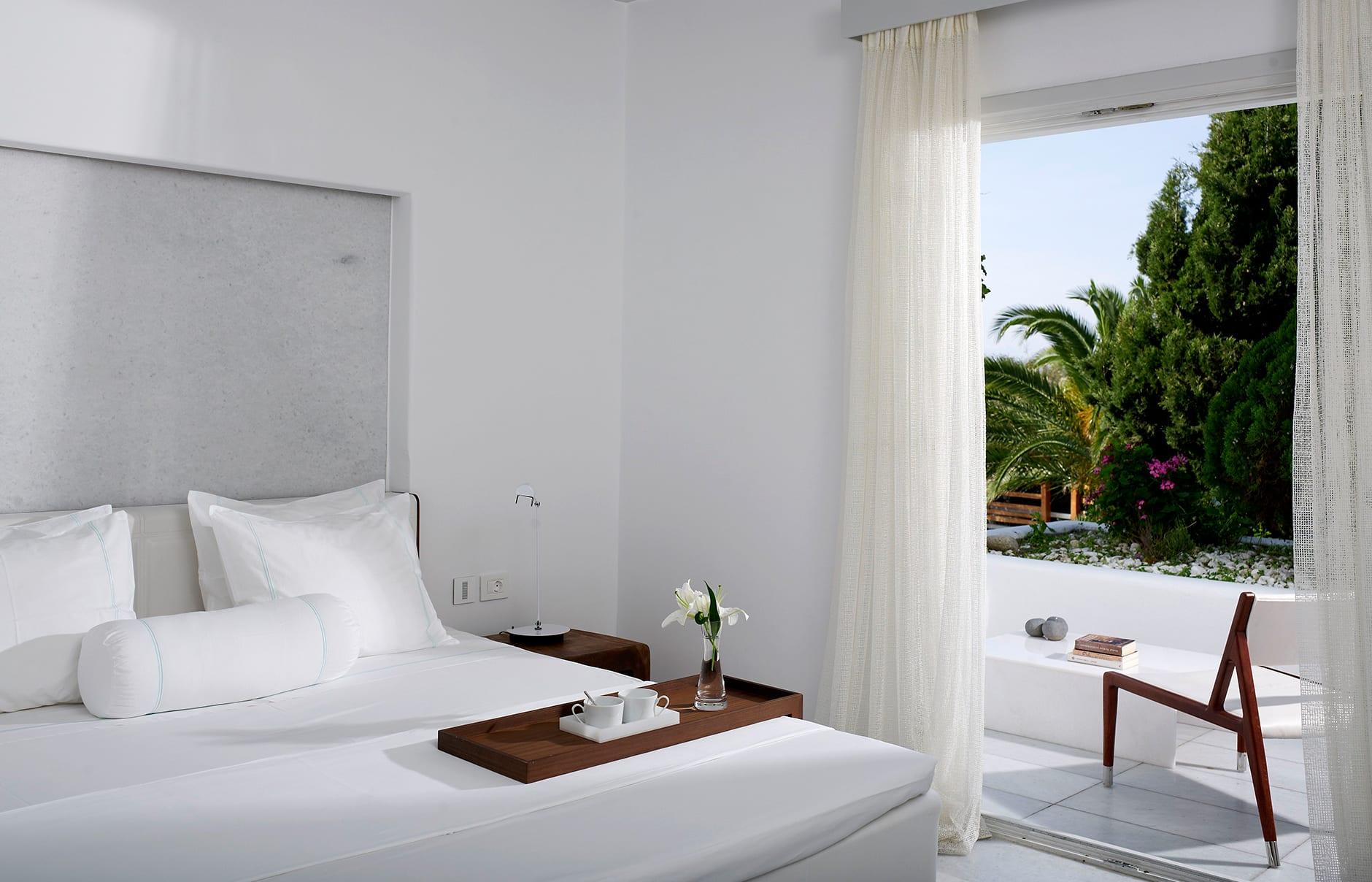 New Standard Room. Belvedere Mykonos, Greece. © Belvedere Mykonos