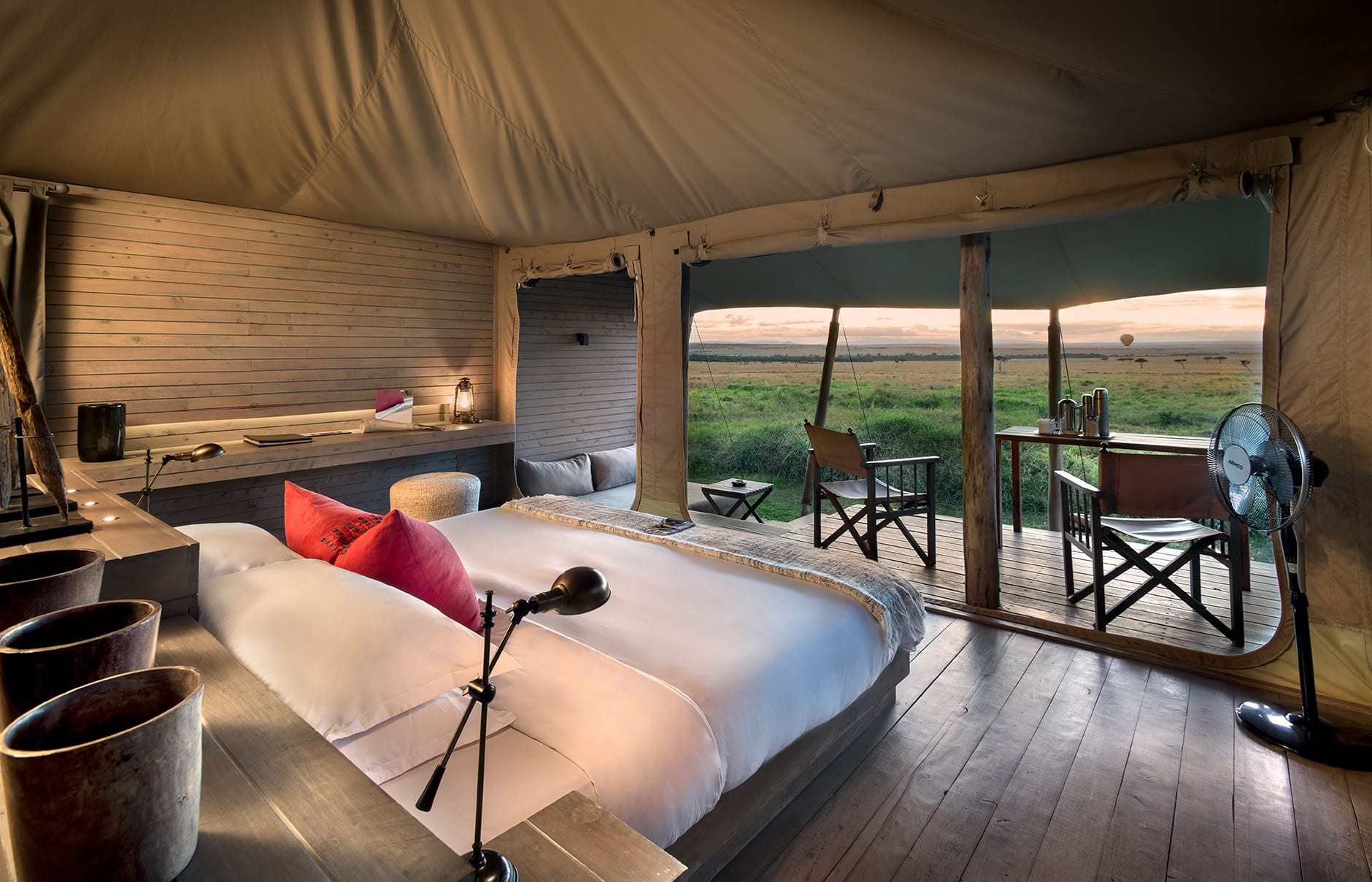 &Beyond Kichwa Tembo Tented Camp, Masai Mara, Kenya. Review by TravelPlusStyle. Photo © &Beyond