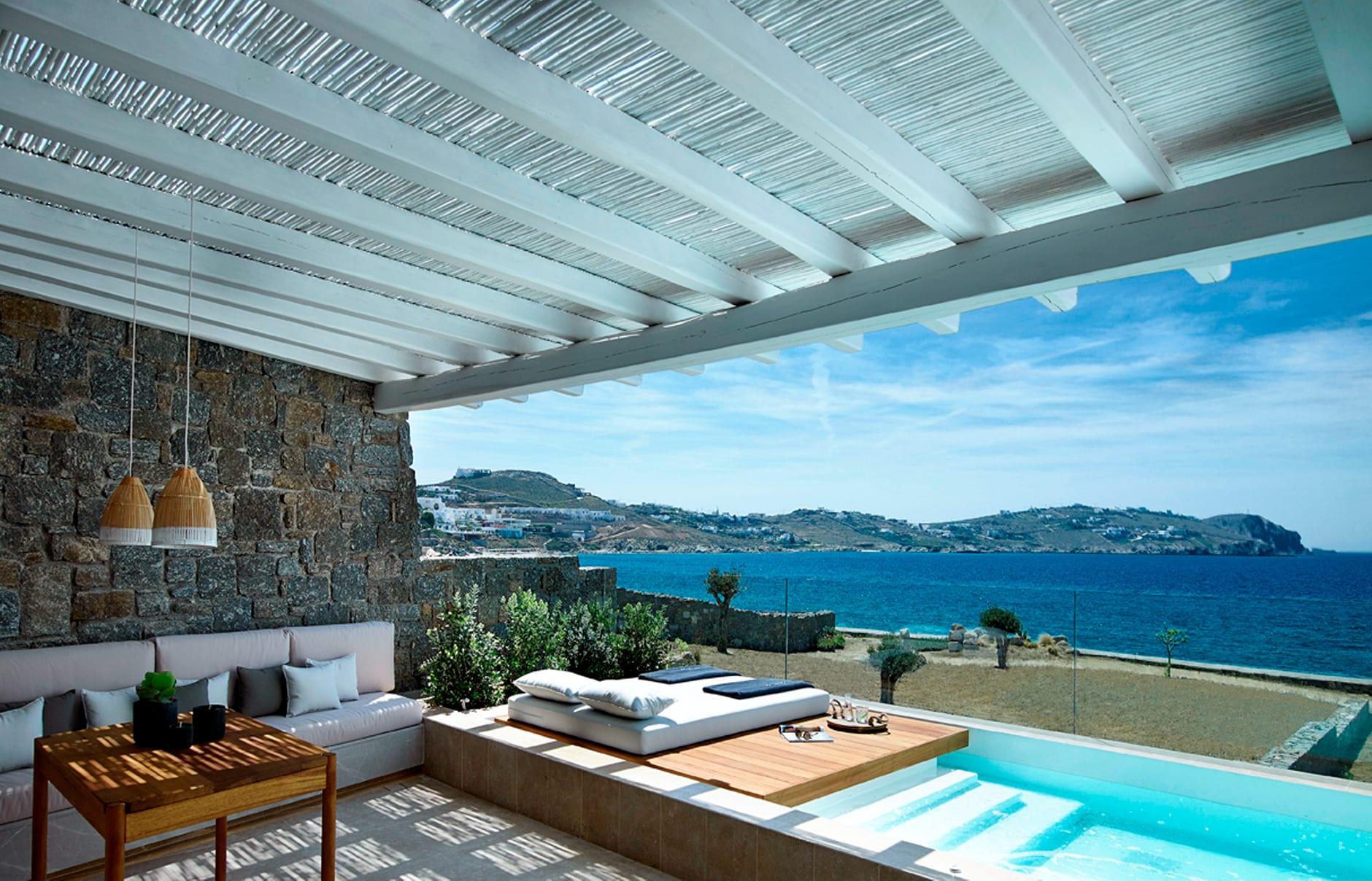 Honeymoon Coast Suite. Bill & Coo Mykonos. © Bill & Coo Mykonos