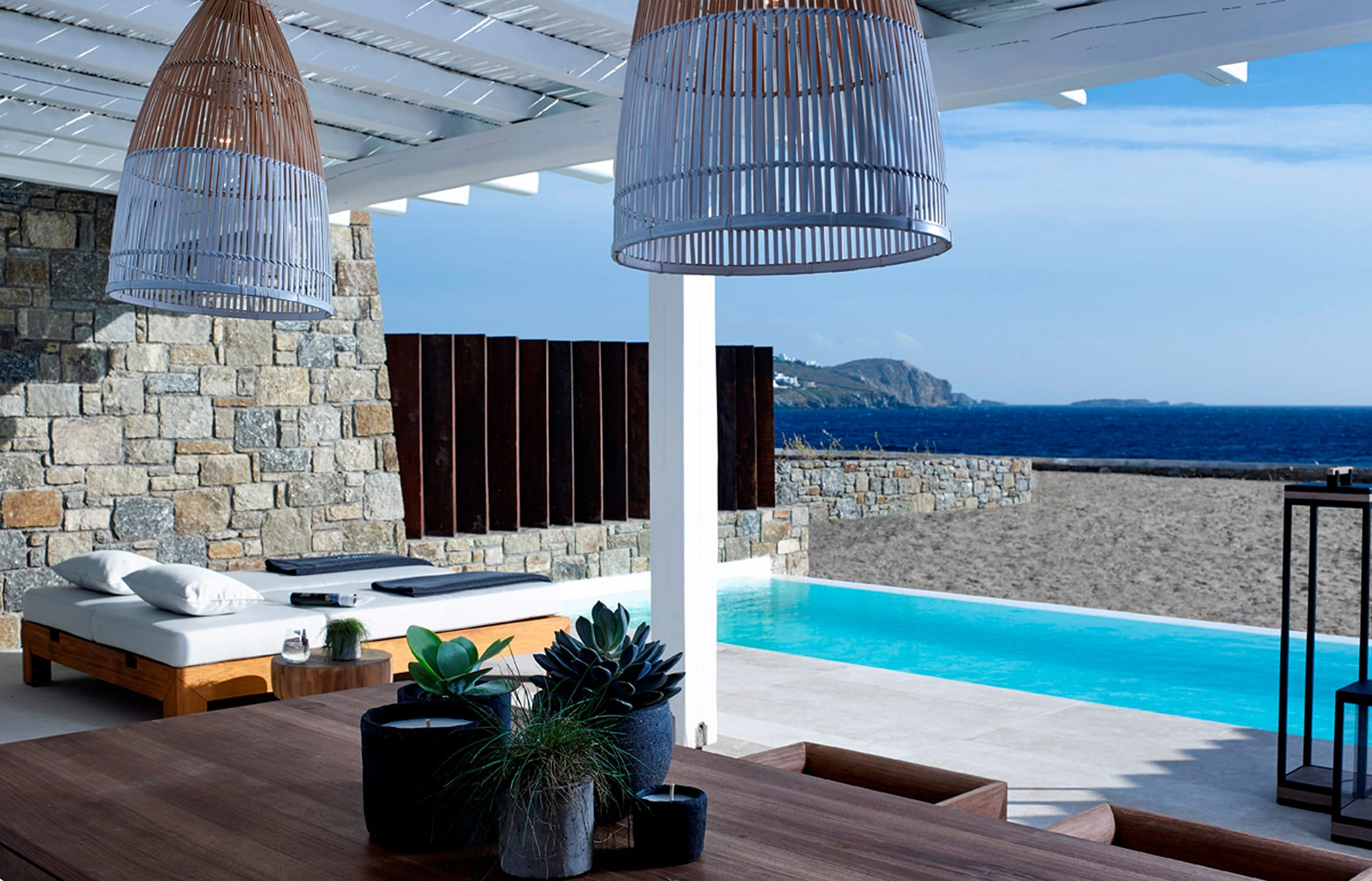 Bill & Coo Mykonos, Greece. Hotel Review by TravelPlusStyle. Photo © Bill & Coo Mykonos