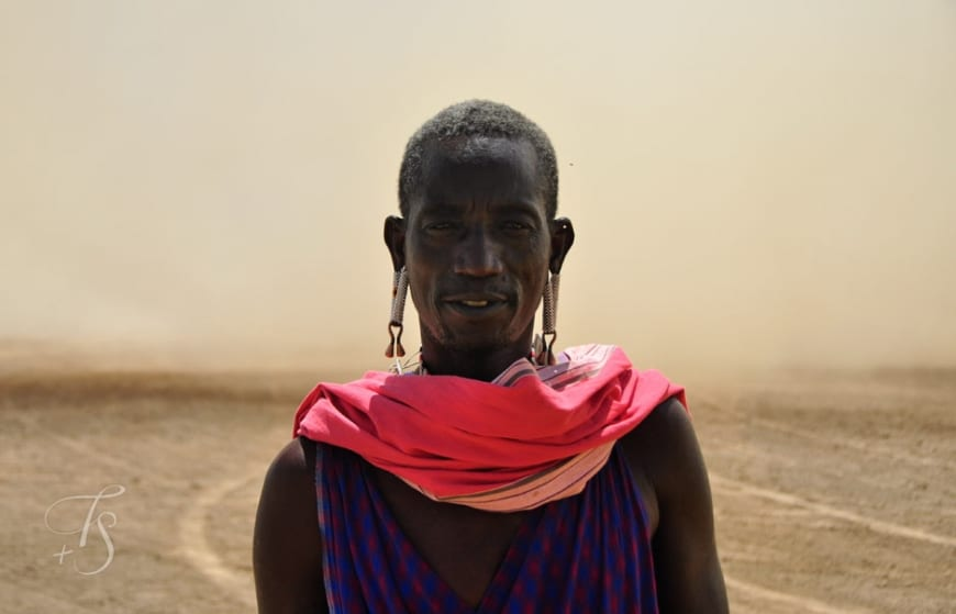 Maasai warrior. Shompole Conservancy in the Great Rift Valley, Kenya © Travel+Style